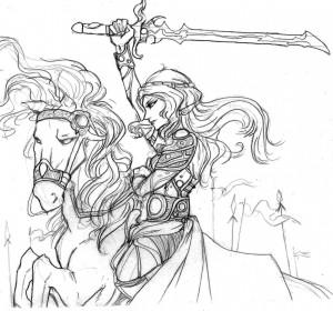 J'adore dessiner dans le style graphique d'Amano !