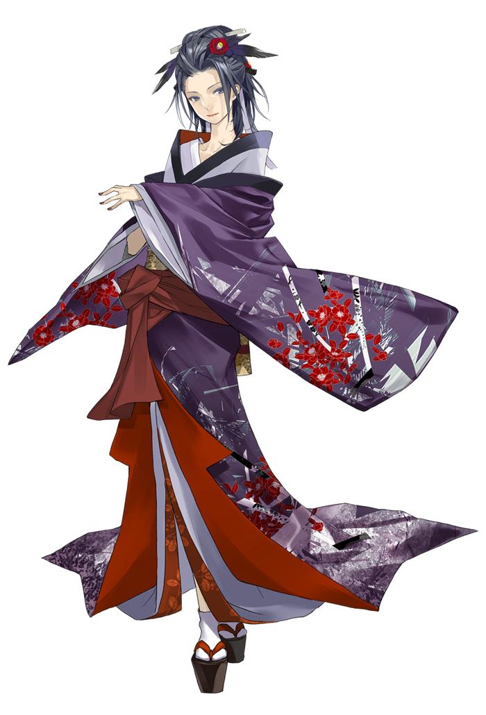 "Haku, personnage du visual novel ""Hanasaku Manimani"""