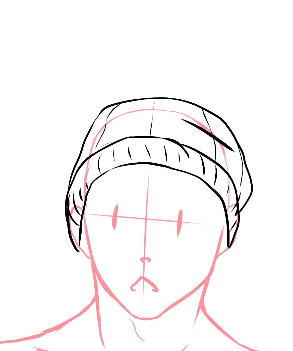 comment dessiner un bonnet