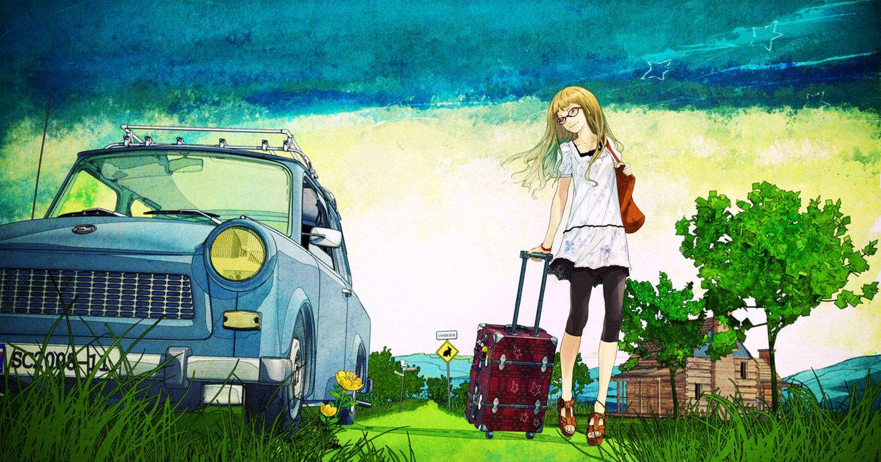 """Illustration pour le 2ème album de Supercell """"Today Is A Beautiful Day"""""""