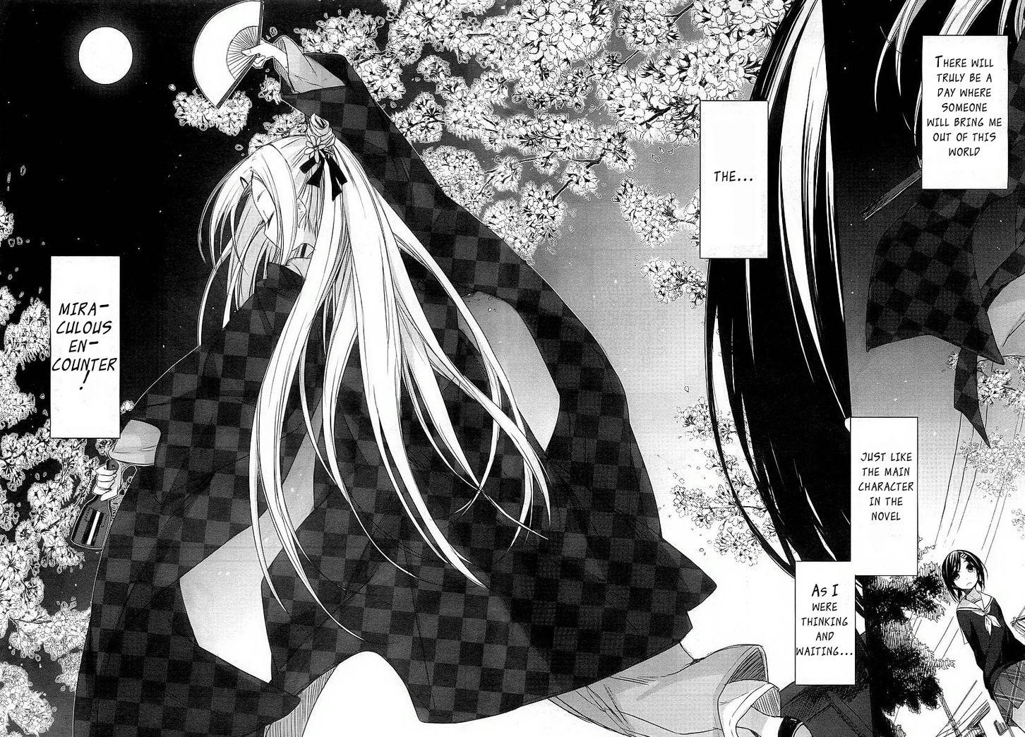 """Extrait du manga """"Hanayamata"""""""