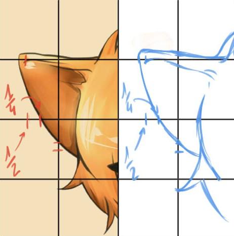 Exercice dessiner avec une grille de proportions - Grille indiciaire adjoint technique 2014 ...